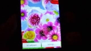 Flowers Sky Live Wallpaper YouTube video