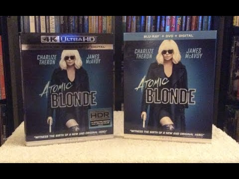 Atomic Blonde 4K Ultra HD BLU RAY UNBOXING + Review - UHD