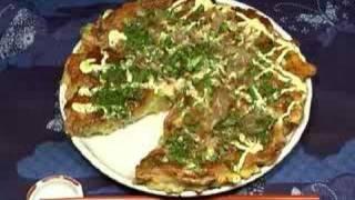 How to Make Okonomiyaki (Japanese Assorted Pancake) お好み焼きの作り方