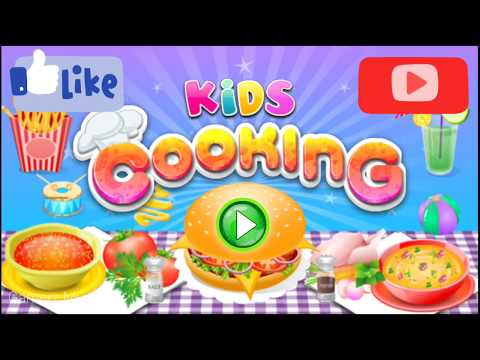 HOW TO COOK GAME | KIDS COOKING GAME