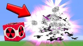 1 MEGA NUKE vs 100 ENDER DRAGONS | Minecraft
