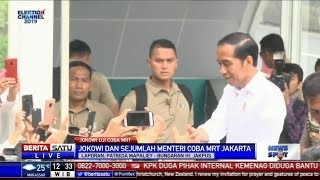 Video Jokowi Jajal MRT, Masyarakat Berebut Foto Selfie MP3, 3GP, MP4, WEBM, AVI, FLV Maret 2019