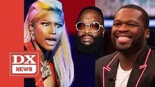 50 Cent Eggs On Nicki Minaj Versus Rick Ross