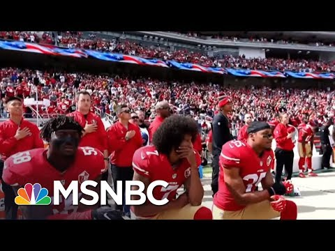 #TakeAKnee NFL Protest Controversy Heats Up On And Off The Field | AM Joy | MSNBC