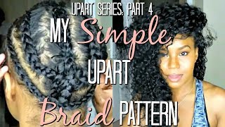 This is how I take care of my natural hair under my upart wigs. Since I have incorporated this method my hair has grown inches!