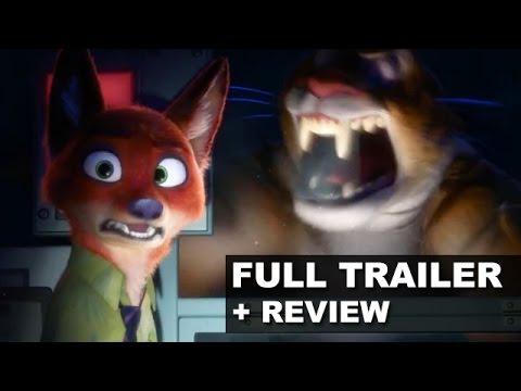 Filmes de animação completos dublados 2017 lançamento - Zootopia Trailer 2 + Trailer Review : Beyond The Trailer