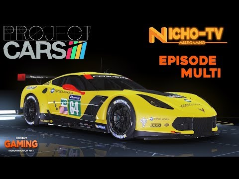 Project cars FR [Course en ligne]Corvette C7R!Retour douloureux :/