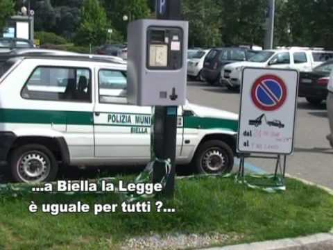 ... la Legge a Biella e' uguale per tutti ??...