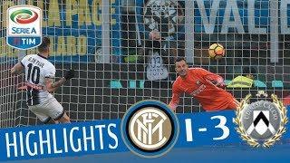 Video Inter - Udinese 1-3 - Highlights - Giornata 17 - Serie A TIM 2017/18 MP3, 3GP, MP4, WEBM, AVI, FLV Maret 2018