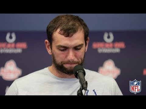 Andrew Luck39s FULL Retirement Press Conference  NFL News