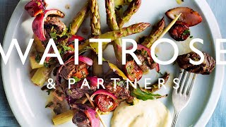 Rich Harris shows you how to make these meaty skewers with a tangy marinade.  See the full recipe  http://www.waitrose.com/content/waitrose/en/home/recipes/recipe_directory/p/portuguese-beef-skewers.html?utm_source=youtube&utm_medium=social&utm_campaign=recipe&utm_content=beefskewersTwitter  http://www.twitter.com/waitroseFacebook  http://www.facebook.com/waitroseInstagram  http://www.instagram.com/waitrose Pinterest  http://www.pinterest.com/waitroseMore great recipes, ideas and groceries  http://www.waitrose.com