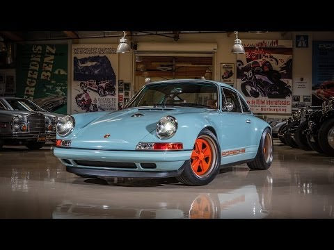 0 Rump Engined Restomod: Jay Leno Drives the Porsche 911 Reimagined by Singer [Video]