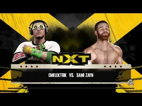 PC/WWE 2k15 - MyCareer - CmElektrik новый чемпион NXT #3