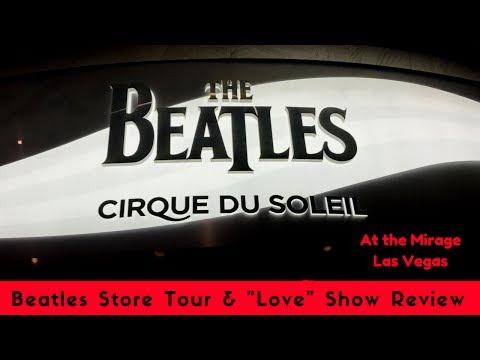 Beatles Store & LOVE Cirque review - Vegas