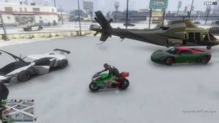 GTA 5 Car Show In Snow! RNG Too!