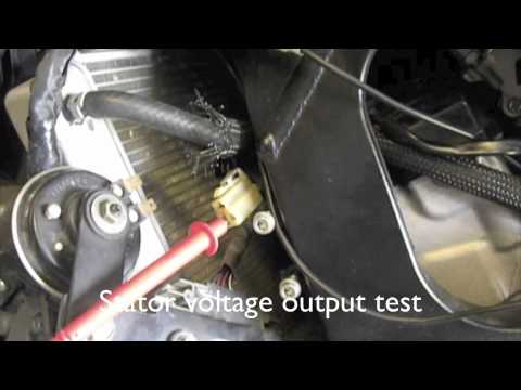 HOW TO CHECK YOUR CHARGING SYSTEM and CHANGING the STATOR and REGULATOR/RECTIFIER