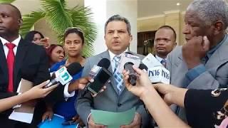 Fidel Santana recibe proyecto que modifica Ley 2-24 del Régimen Penitenciario