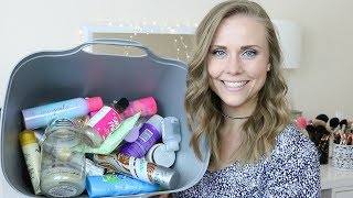 Hey lets go through my trash! lol Thank you for watching, I hope you liked the video! Please feel free to leave any comments, questions, or suggestions down below. :)You can find me on Instagram @ hairbylizzybug The products that I mentioned in today's video:Yankee Candle - Sprinkled Sugar CookieAussie 3 Minute Miracle Moist Deep ConditionerTarte Glow with the Faux Foaming Self TannerTarte Brazilliance Plus+ Self TannerTarte Hair Goals Dry ShampooBatiste Beautiful Brunette Dry Shampoo x3Giorgio Armani Si Roller BallB&BW Foaming Hand Soaps:  -Winter White Woods  -Christmas Morning  -Cookies for SantaTree Hut Shea Sugar Body ScrubSuave Kids Surf's Up 2 in 1 Shampoo + ConditionerOGX Shea Soft + Smooth ShampooLush Snow Fairy Shower GelTarte Clean Queen Vegan DeodorantAveeno Smart Essentials Daily Nourishing MoisturizingDavines Love ShampooiT Confidence in a CreamMaybelline Dream Cushion Liquid Foundation in #20Simple Cleansing Facial WipesCaudalie Vinosource Moisturizing SorbetGold Bond Healing Hand Cream x2Laura Mercier Foundation PrimerPhysicians Formula Super BB #InstaReady Filter Trio BB Powder in Universal FilterBecca Backlight Priming FilterL'oreal Voluminous Feline Noir MascaraMaybelline The Colossal Big Shot Volum'Express MascaraStila Huge Extreme Lash MascaraMarc Jacobs Velvet Noir Mascara in Noir