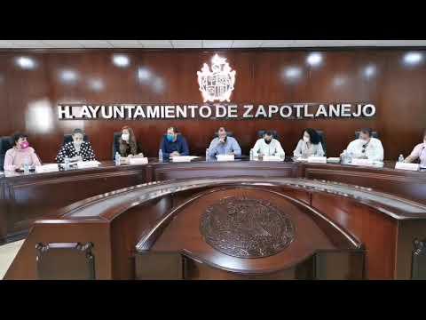 Sesión de Gobierno de Zapotlanejo No. 55 de carácter Ordinario. 26 de octubre de 2020