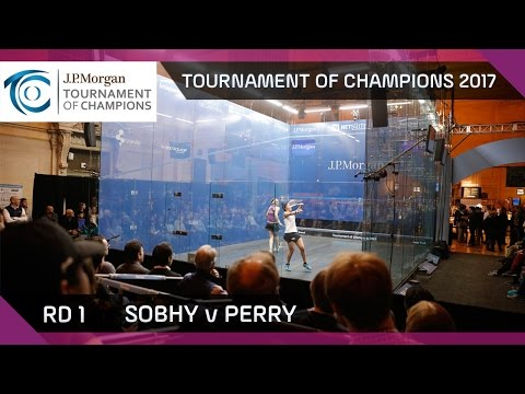 Squash: Sobhy v Perry - Tournament of Champions 2017 QF Highlights