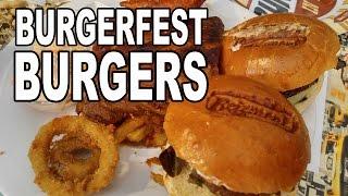BBQ Pit Boys Burgers at Jack Daniel's Burgerfest by BBQ Pit Boys