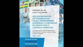 UE Journées d'informations dans les universités publiques du Togo