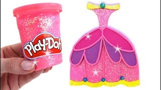 Video Learn Colors Play Doh Making Colorful Disney Princess Dress Surprise Toys MP3, 3GP, MP4, WEBM, AVI, FLV Agustus 2017