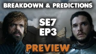 Check out my Game of Thrones Season 7 Episode 3 Preview Breakdown and Predictions. Careful for spoilers as this does reveal some of the Game of Thrones ...