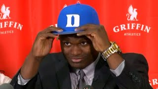 Zion Williamson Picks the Duke Blue Devils