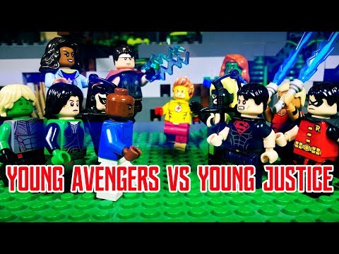 Lego Young Avengers vs Young Justice