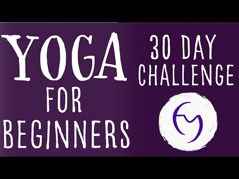 Yoga For Beginners 30 Day Challenge With Lesley Fightmaster
