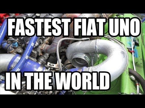 fiat uno turbo 784 hp!!!