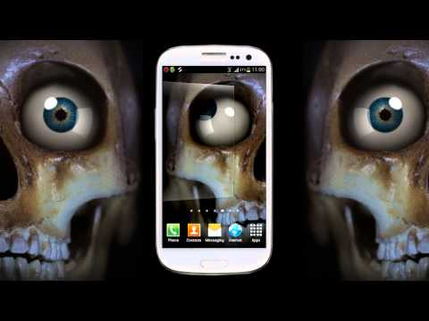 Video of Skeleton Eye Live Wallpaper