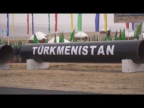 العرب اليوم - فيديو: أعمال خط أنابيب الغاز