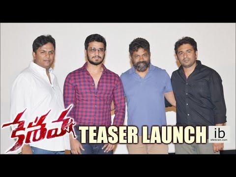 Keshava Teaser Launch   Nikhil