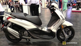 6. 2017 Piaggio BV 350 ie ABS Scooter - Walkaround - 2016 AIMExpo Orlando
