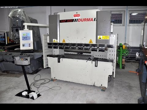 NC Hydraulic Press Brake DURMA HAP 2035 2005