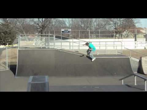 From the Mess to the Masses Part 1 - Clifton Skatepark, NJ - 01.23.10.mov