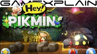 Check out some Hey! Pikmin gameplay from Sector 2 on Nintendo 3DS!Thanks to Nintendaan for capturing this: https://twitter.com/NintenDaan---------------------------------Follow GameXplain!---------------------------------➤ PATREON:  https://www.patreon.com/GameXplain➤ FACEBOOK:: http://www.facebook.com/gamexplain➤ TWITTER: http://twitter.com/GameXplain➤ INSTAGRAM: https://www.instagram.com/gamexplain_official➤ GOOGLE+: https://plus.google.com/108004348435696627453⮞ Support us by shopping @ Play-Asia- http://www.play-asia.com/?tagid=1351441 & @ AMAZON- http://geni.us/wq8 ⮜