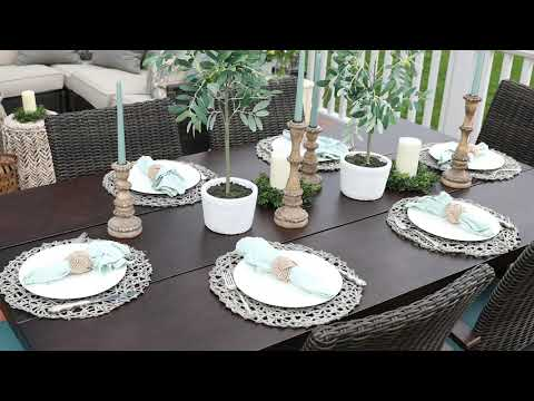 Watch this outdoor tablescape come to life