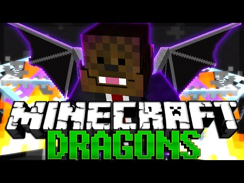 Minecraft Dragons Minigame w/ THE POWER MOVE SQUAD
