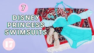 7 Cute Disney Princess Swimsuits | Style Lab by Seventeen Magazine