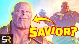 Marvel Theory: Thanos Will Be The Hero Of Avengers Endgame