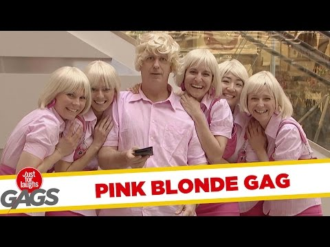 Video Pink Blonde Prank - Throwback Thursday download in MP3, 3GP, MP4, WEBM, AVI, FLV January 2017
