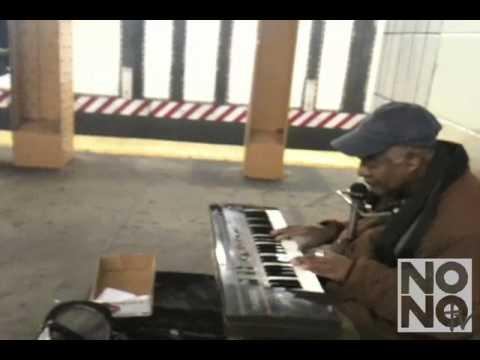 Winston the Genius Performs a Subway Chant Live At the L Train Platform