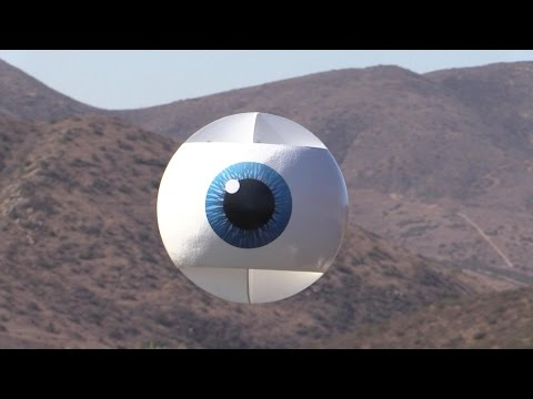 A Giant Remote Control Flying Eyeball