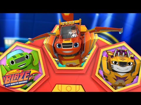 Spin the Wheel w/ Robot Blaze! | Blaze and the Monster Machines