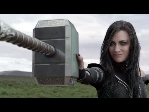 Thor: Ragnarok (Clip 'Hela Destroys Thor's Hammer')