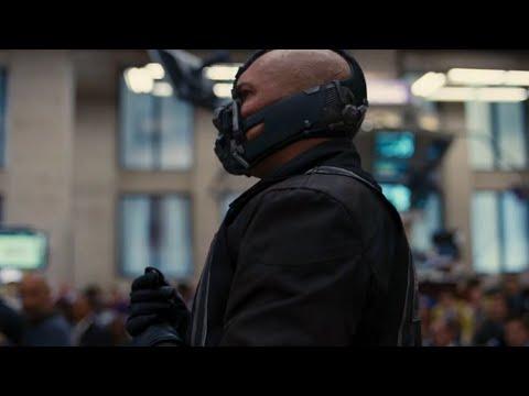 Bane hits Stock Exchange - The Dark Knight Rises (2012) | Hindi