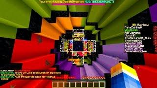 "Minecraft ""DEATH DROP HOOP LIFE!"" Death Drop #3 w/ Mitch, Jerome, Vikk, Pete, and Woofless!"